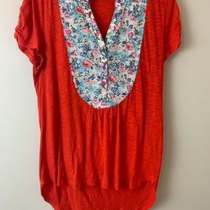 Anthropologie tee shirt size small